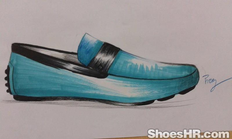 马克笔套楦鞋