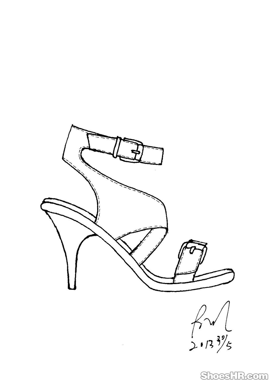 手绘,余剑--中国鞋业设计师网