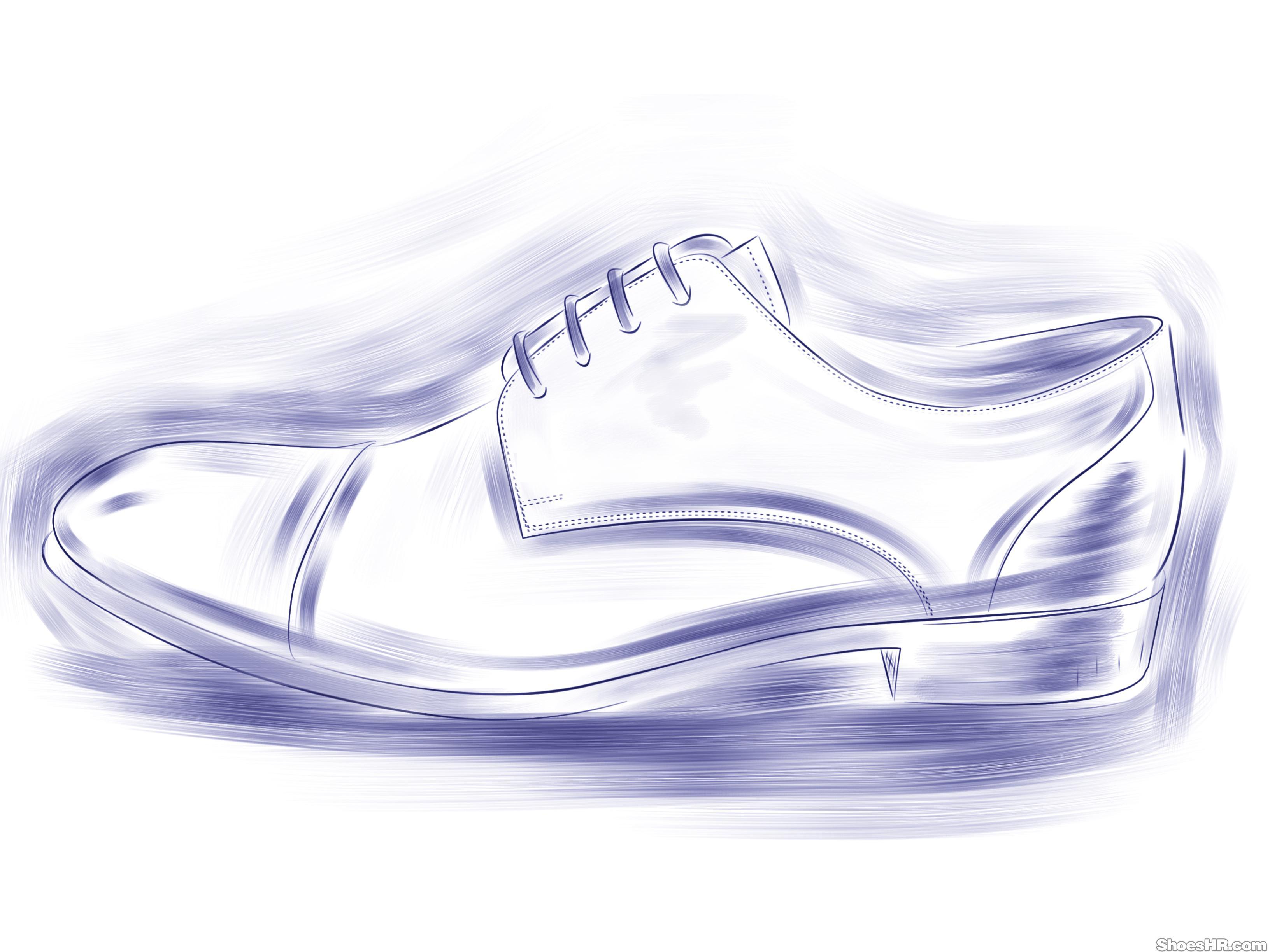 素描鞋子高清 鞋子创意素描 创意鞋子设计素描