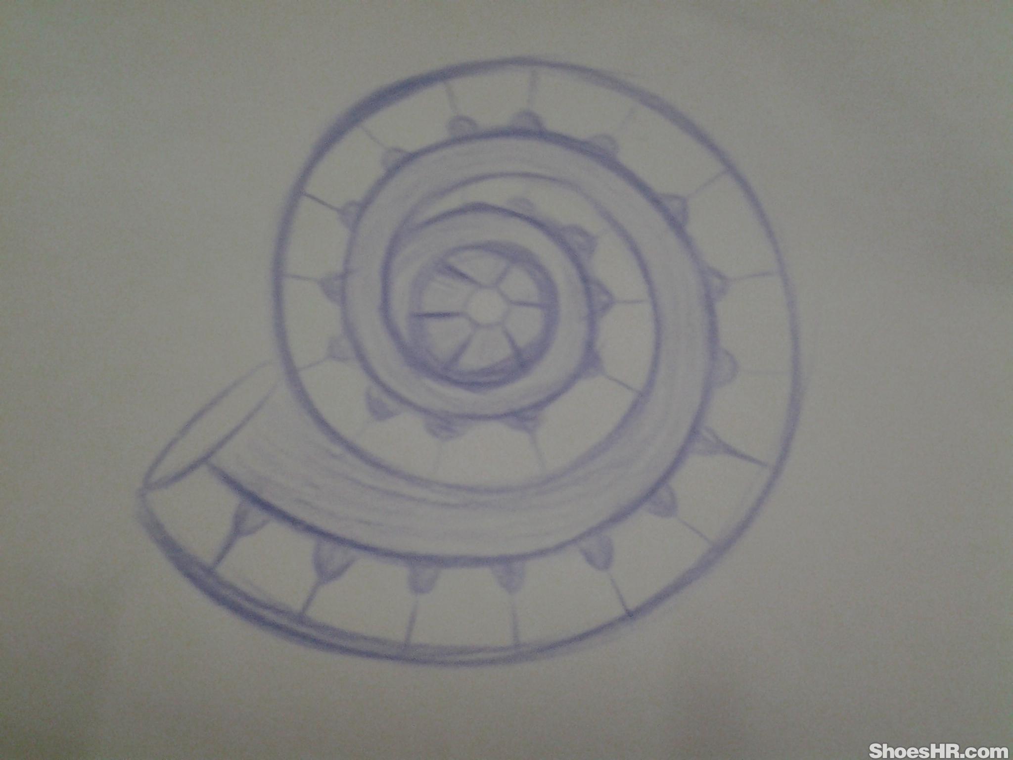 海螺的结构画法