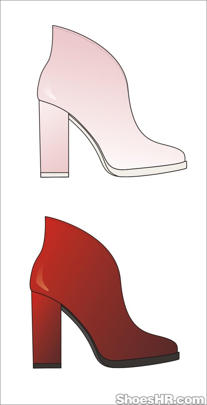 高跟鞋,艾可可--中国鞋业设计师网