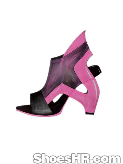 马克笔纱质画法,weilai--中国鞋业设计师网