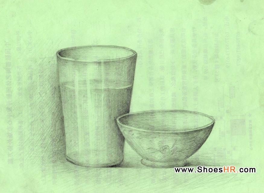 设计素描多功能水杯