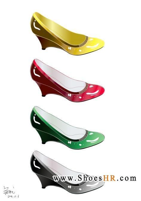 女鞋矢量图5