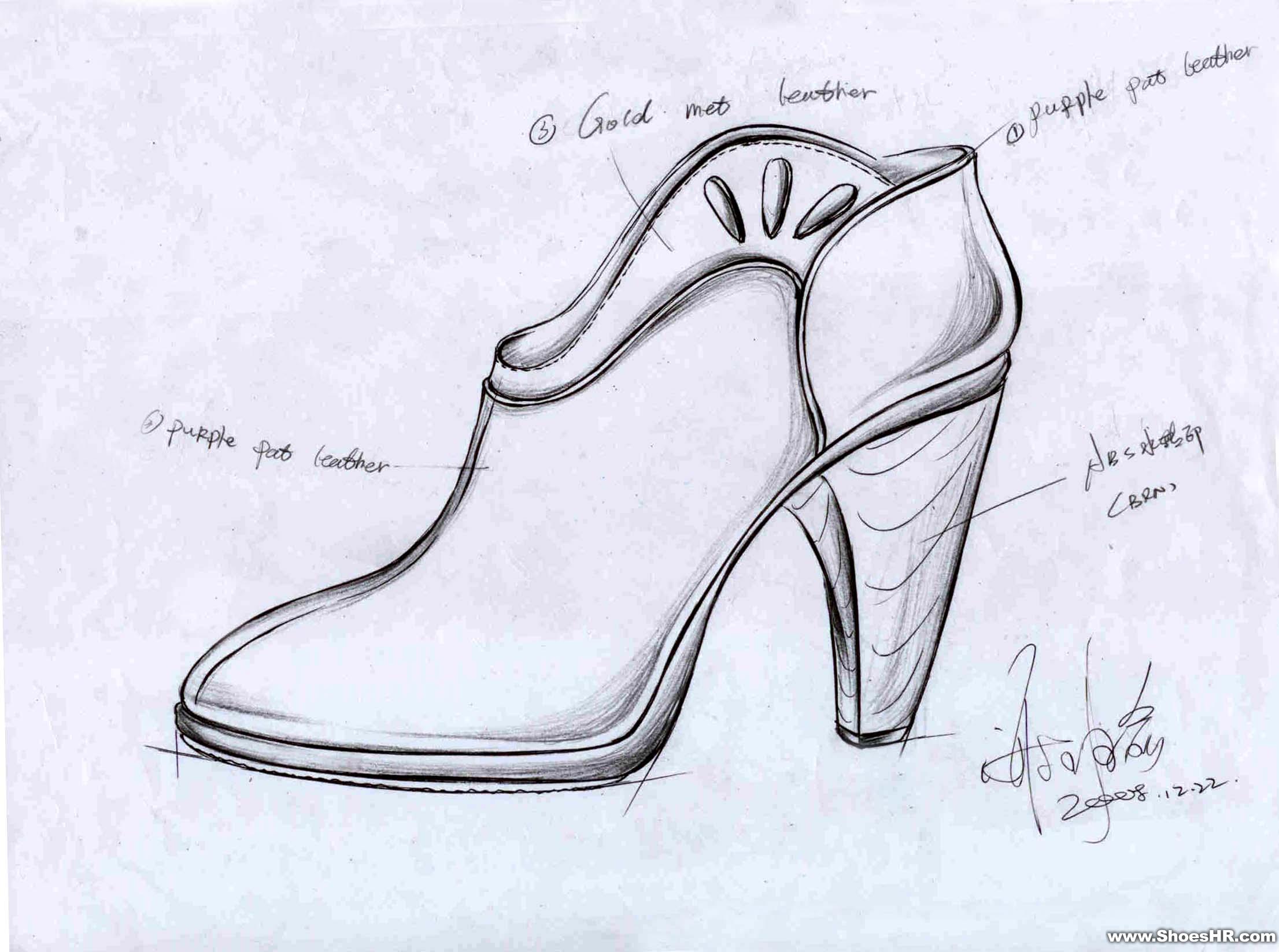 手绘鞋子设计图案; 混沌武尊;