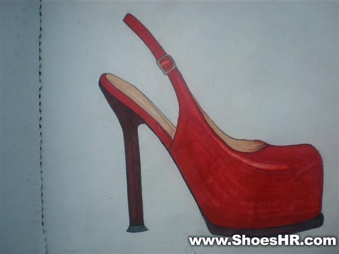 马克笔系列2,朱建龙--中国鞋业设计师网