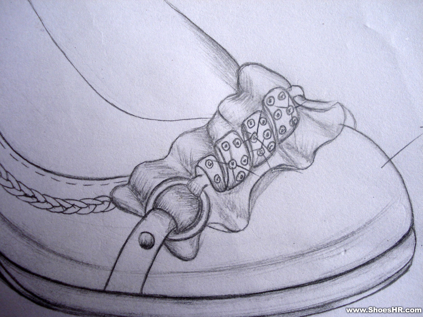 鞋花的画法