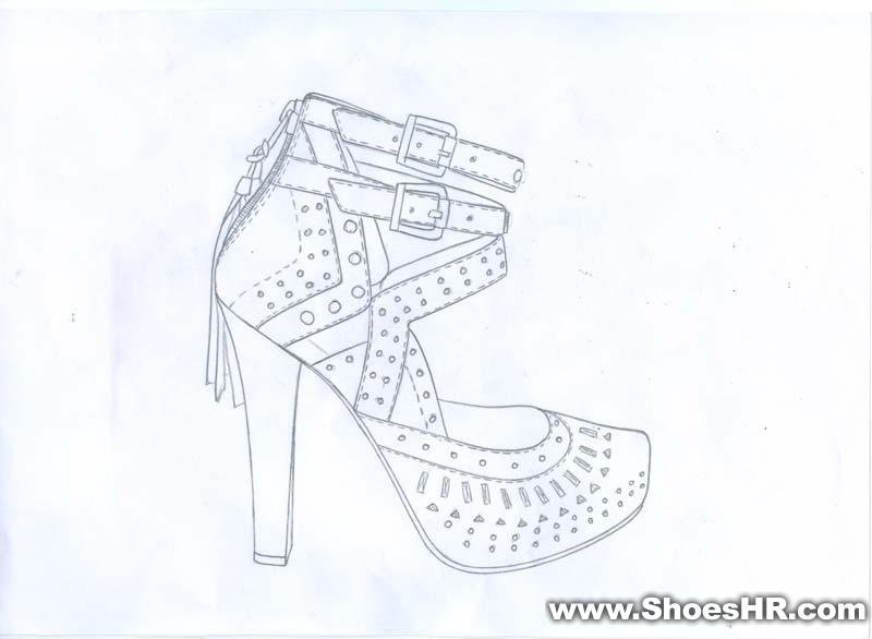 高跟鞋,白天--中国鞋业设计师网