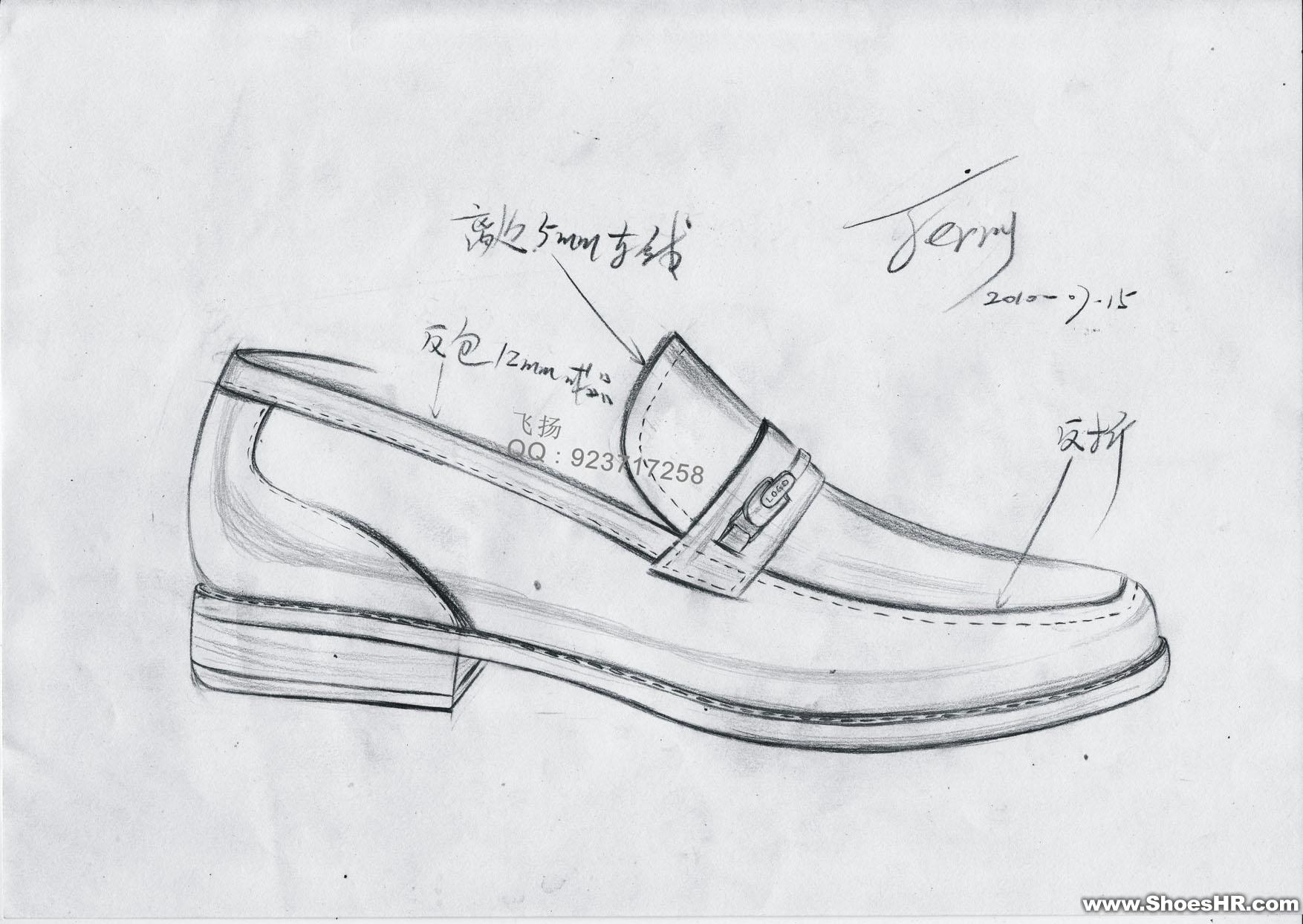 手绘图,杨锟--中国鞋业设计师网
