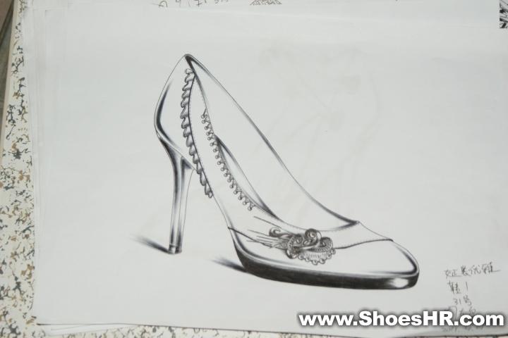 手稿   鞋子设计手稿素描   图_家具   鞋子设计手稿素描