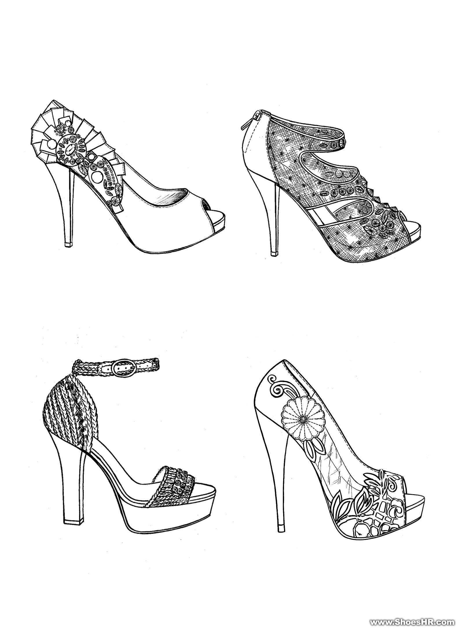 设计图,赖志锋--中国鞋业设计师网