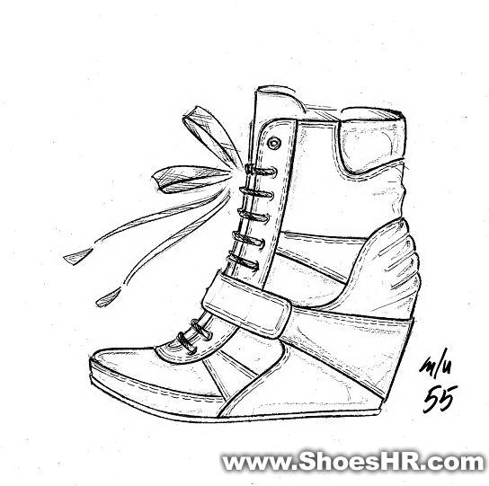 设计手稿,--中国鞋业设计师网