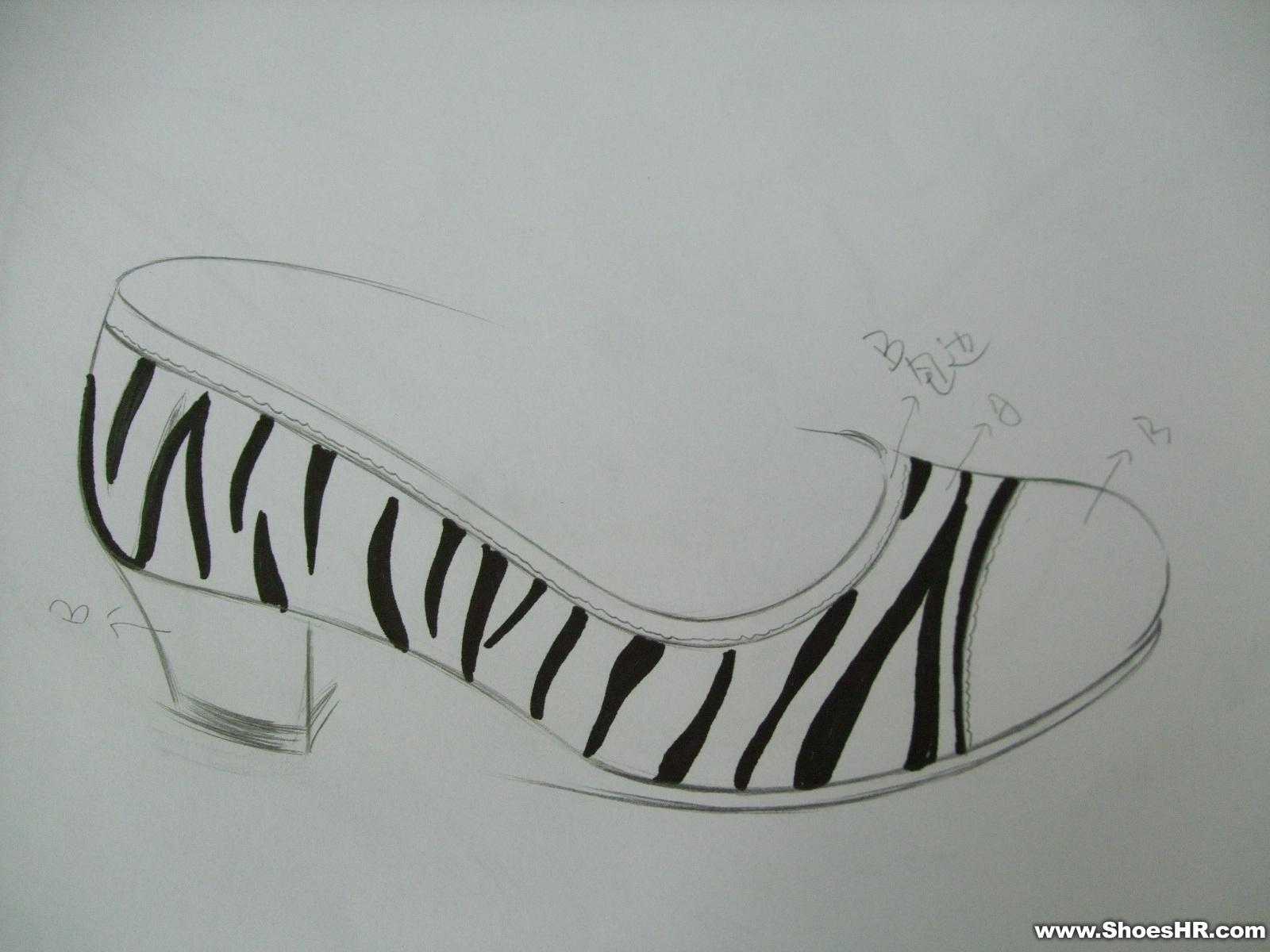 王冠戒指设计图手稿铅笔画