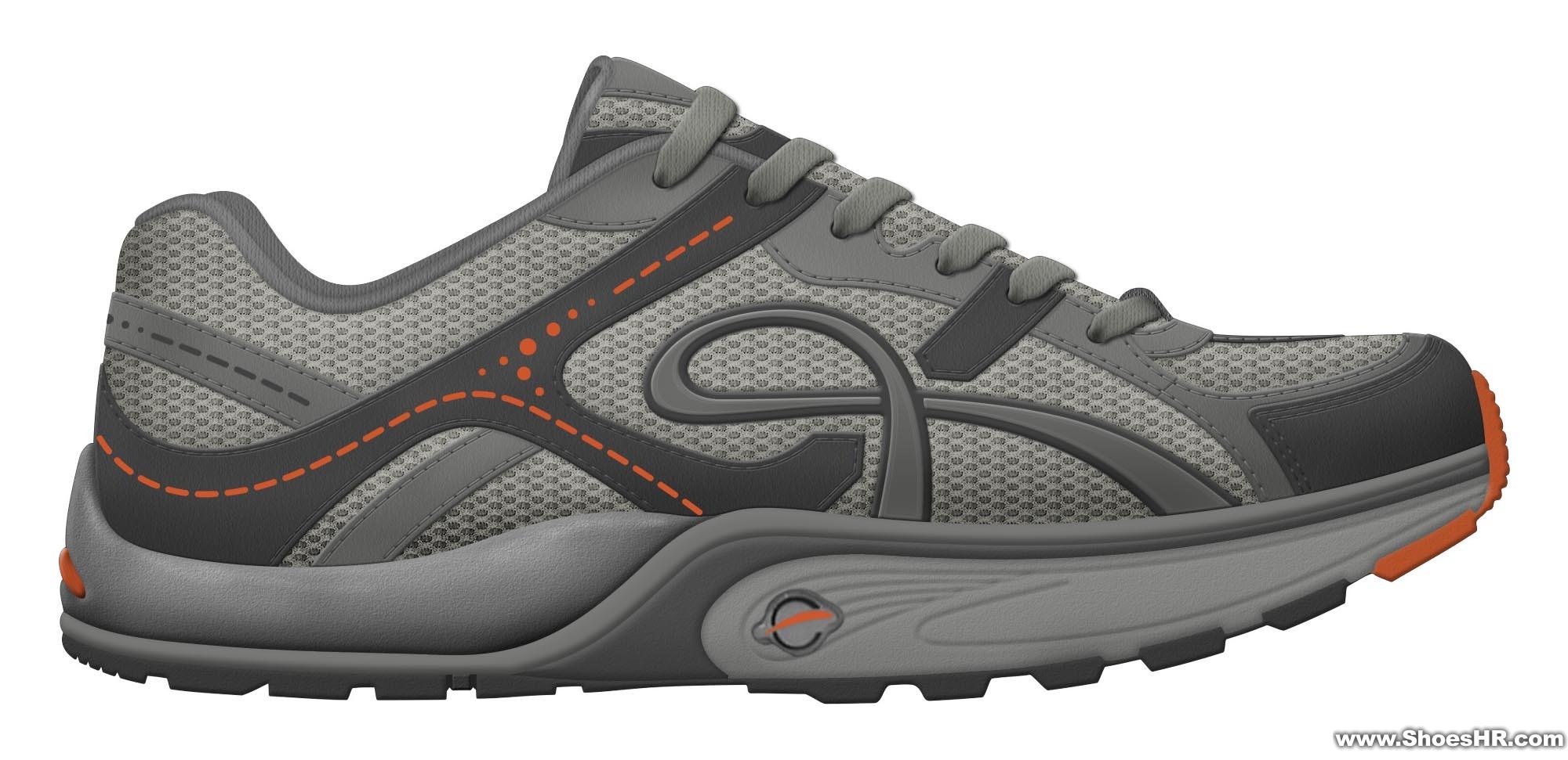 运动鞋设计效果图