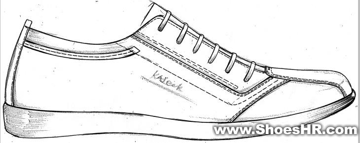鞋类设计手绘